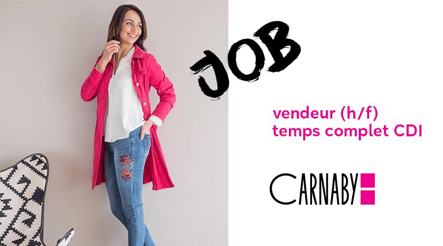 Job CDI vendeur (H/F) chez Carnaby Blanc Carroi
